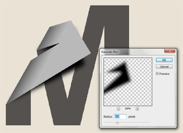 tutorial belajar membuat bayangan tulisan menggunakan photoshop