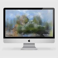 Full Layered PSD iMac