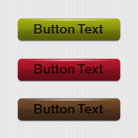 Simple Glossy Editable Web Button