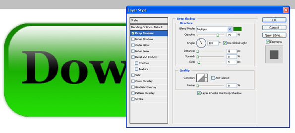 photoshop tutorial quick tips create gel glass download button for website
