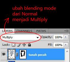 tutorial blending mode photoshop foto manipulasi