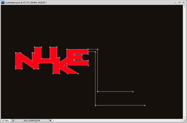tutorial membuat efek cahaya pada photoshop untuk tipografi